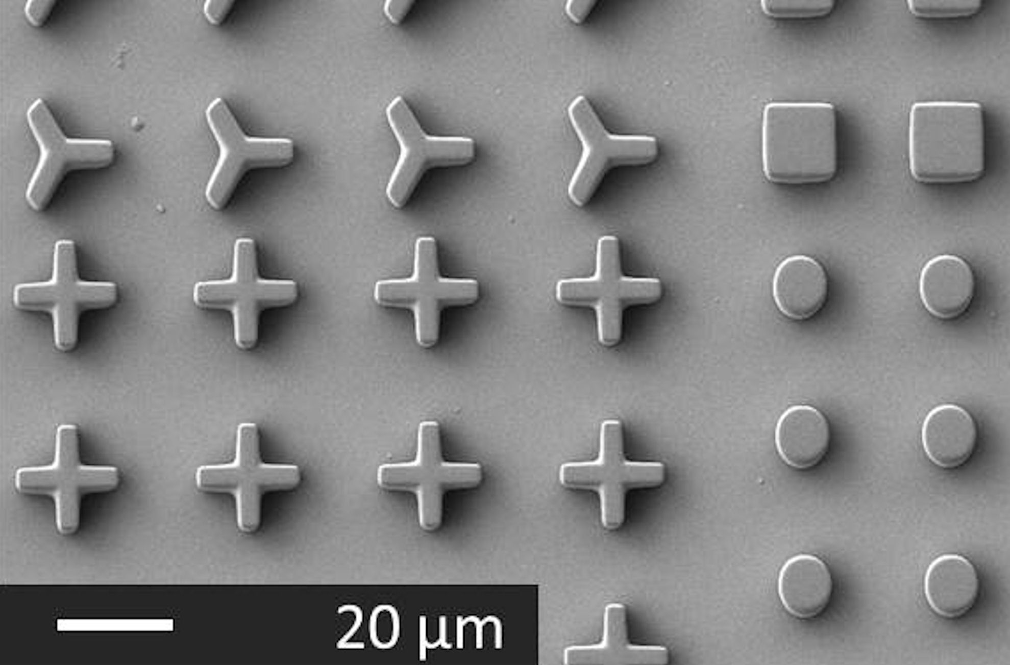Magnetic PDMS microparticles casted using sSPIONs™